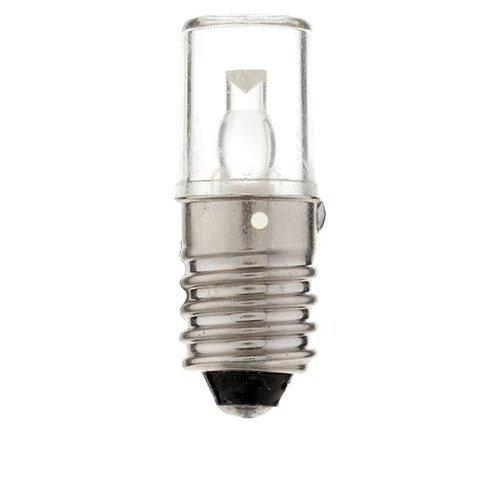 Lse Lighting 12V 12Volt T3 1/4 Miniature Screw (E10) Led Light Bulb Color Cool White