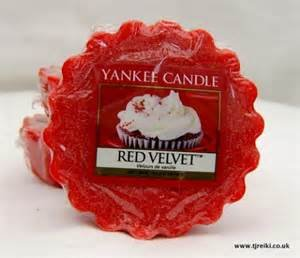 Yankee Candle Wax Tart Red Velvet