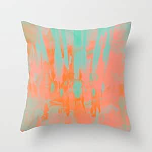 Inexpensive Throw Pillow Inserts : Amazon.com - Simple Design Cheap Pillowcase Carousel Throw Pillow