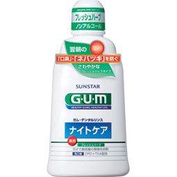 GUM Dリンス ナイトケア Fハーブ 450ml