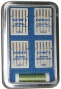 Cheapest Price! Schmetz Universal Needle Collection Gift Box 3.7in x 5.5in Tin Needle Assortment and...
