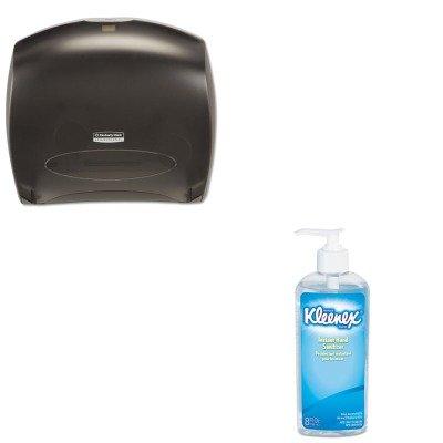 Kitkim09507Kim93060Ea - Value Kit - Kimberly Clark In-Sight Jrt Jr. Tissue Dispenser W/Stub (Kim09507) And Kimberly Clark Kleenex Instant Hand Sanitizer (Kim93060Ea) front-1043776
