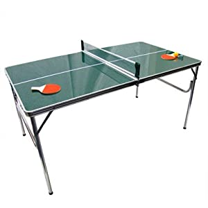 mini ping pong table portable folding game. Black Bedroom Furniture Sets. Home Design Ideas