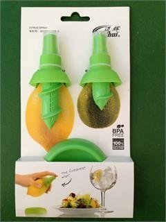 2 pc Citrus Sprayer Set the freshest mist for your foods (Plastic Lemon Juicer Sprayer compare prices)