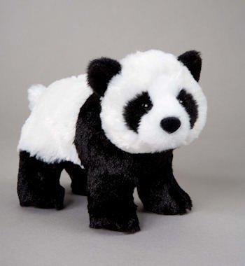 "Bamboo Panda 8"" by Douglas Cuddle Toys - 1"