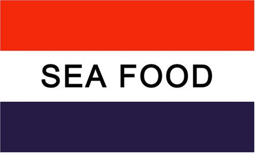 Sea Food MESSAGE Flag - 3 foot by 5 foot Polyester (NEW) - Buy Sea Food MESSAGE Flag - 3 foot by 5 foot Polyester (NEW) - Purchase Sea Food MESSAGE Flag - 3 foot by 5 foot Polyester (NEW) (Message Flag, Home & Garden,Categories,Patio Lawn & Garden,Outdoor Decor,Banners & Flags)