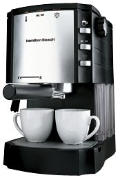 Hamilton Beach 40729 Espresso/Cappuccino Maker with Pod Holder Discount