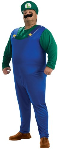 Plus Size Luigi Costume