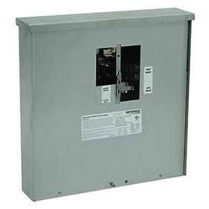 Generac 6382 30-Amp Manual Transfer Switch Outdoor Service Power Center for 7,500 Watt Portable Generators