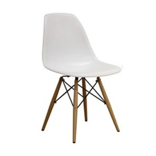 White Wood Chair front-1072283