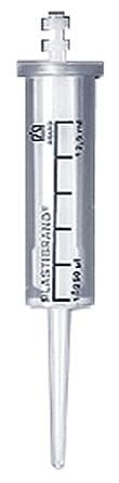BrandTech 702692 Plastic BIO-CERT PD-Tip Sterile Syringe Tip, 12.5mL Capacity (Pack of 100)