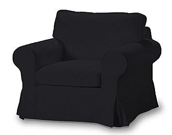 FRANC-TEXTIL 612-705-00 Ektorp sillón funda, funda sillón, sillón Ektorp, Etna, negro
