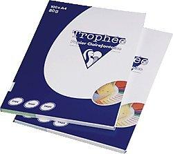 Clairefontaine Trophée 4111 - Papel DIN A4 (80 g/m², 100 hojas), color  azul