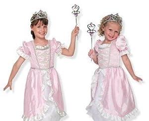 Melissa & Doug Children's Princess Role Play Costume Set,Princess,US One Size