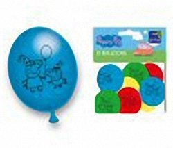 Peppa Pig Party Latex Balloon (10 pack) - Peppa