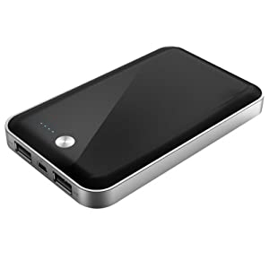 uNu Enerbook Duo Portable Universal Power- 7000mAh External Battery Pack and Charger for the new iPad 3 2 1, iPhone 4S 4 3Gs 3G (AT&T, Verizon, Sprint), iPod, Motorola Droid 1 2 X Razr, HTC Android Phones, Blackberry, Samsung Galaxy S S2 Note Nintendo NDS NDSL Sony PSP PSV
