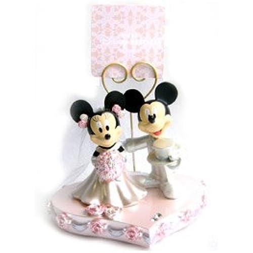 미키마우스&미니 마우스 웨딩 스탠드 클립[도쿄 디즈니 리조트 한정]-