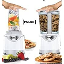 Ninja Kitchen System Pulse Blender with Free Cookbook