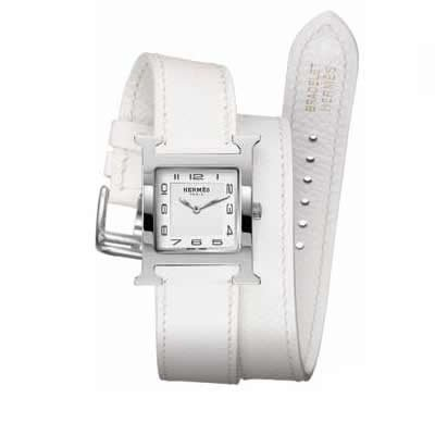 Hermes Heure H Ladies Quartz Watch - 036799WW00