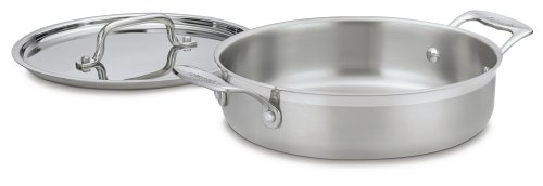 Cuisinart MultiClad Pro Stainless 3-Quart Casserole with Cover - Buy Cuisinart MultiClad Pro Stainless 3-Quart Casserole with Cover - Purchase Cuisinart MultiClad Pro Stainless 3-Quart Casserole with Cover (Cuisinart, Home & Garden, Categories, Kitchen & Dining, Cookware & Baking, Baking, Bakers & Casseroles)