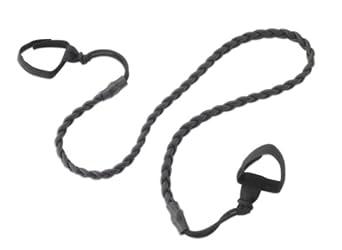 Lewis N. Clark  Latex Clothesline,Black,One Size