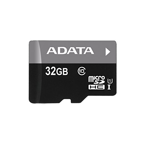 ADATA 32GB microSDHC/SDXC UHS-I U1 Class 10 Memory Card with Adapter (AUSDH32GUICL10-RA1) (Micro Sd Adata compare prices)