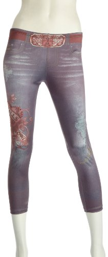 Ed Hardy LKS Platinum Womens Leggings