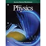 img - for Holt Physics, Section Review Worksheets book / textbook / text book