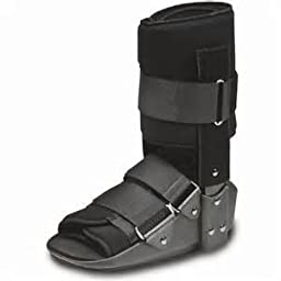 Swede-O Walking Boot, Black, Short Small