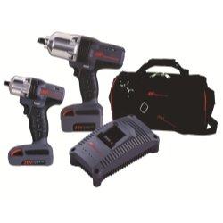 Ingersoll Rand (Irtiqv20-201) 2 Piece Iqv20 Cordless Impact Wrench Combo Kit
