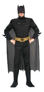 Deluxe Muscle Chest Batman Costume - Medium - Chest Size 40-42 at Gotham City Store