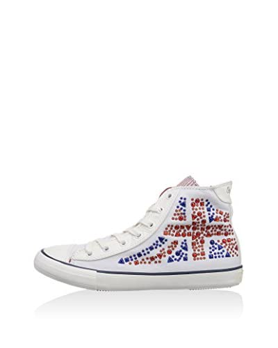 Pepe Jeans Sneaker Alta INDUSTRY STUDS [Bianco]