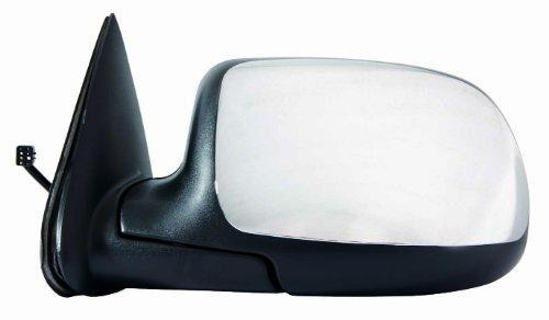 Depo 335-5401L3EC Chrome Driver Side Power Non-Heated Mirror (01 Silverado Mirror compare prices)