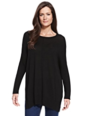 M&S Collection Centre Seam Knitted Tunic