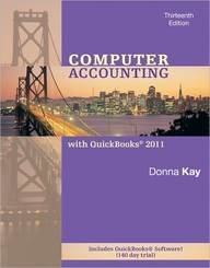Computer Accounting With Quickbooks 2011