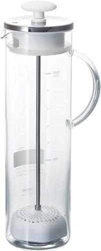ハリオ 水素水ポット 1,000ml(カートリッジ1個付) HWP-10