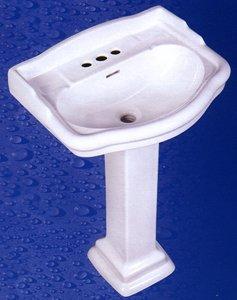 Buy Stanford Pedestal Lavatory Sink - 21 x 17 - 4