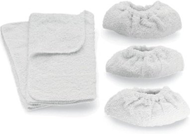 5x Vax Delta Steam Mop Hard Floor Microfibre Cleaning Pads Covers