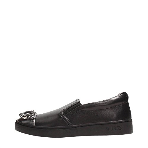 Guess FLGLO3LEA12 Slip On Donna Pelle Black Black 37