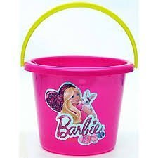 Barbie Plastic Bucket - 1