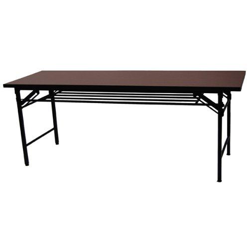 エイ・アイ・エス(AIS) 会議テーブルハイタイプ(幅180奥行き60) ブラウン KA-1860L(BR)