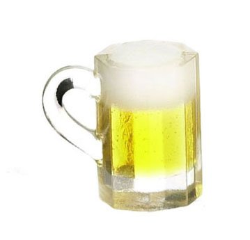 Dollhouse MUG OF BEER - 1