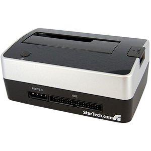 StarTech USB SATA IDE HDD Docking Station for 2.5/3.5in. USB TO SATA IDE EXT UNIVERSAL HARD DRIVE DOCKING STATION ST-MNT. 2.5' - Dock , 3.5' - 1/3H Dock - Serial ATA, EIDE/ATAPI, EIDE/ATAPI, USB - External - Black