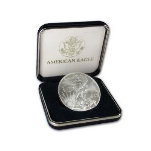2010 Silver American Eagle Coin with U. S. Mint Box