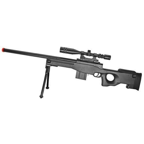 Amazoncom Well L96 Awp Spring Airsoft Sniper Rifle Sports 2015 ...