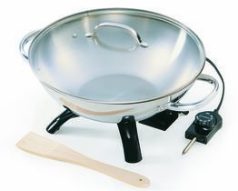 Presto Stainless Steel Electric Wok gipfel ковш prestige 16 см 1 5 л