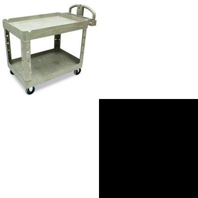 Kitrcp1777155Rcp452088Bg - Value Kit - Rubbermaid Heavy-Duty Utility Cart (Rcp452088Bg) And Rubbermaid Vplastic Pitcher (Rcp1777155)