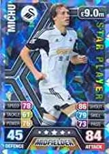 Match Attax 2013/2014 Michu Swansea Star Player 13/14