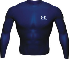 Under Armour ColdGear Crew Compression Top - Medium