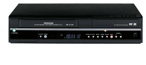 Toshiba D-VR650 Super MultiDrive 1080i Up-Converting DVD Recorder and VCR with Built-In Tuner